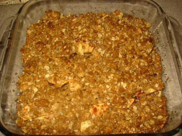 Apple Crisp. Photo by KadesMom