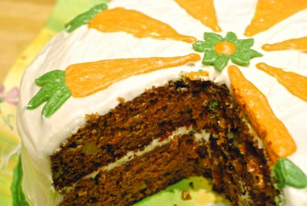 Why-I-Joined-Zaar Carrot Cake. Photo by SavedByGrace7