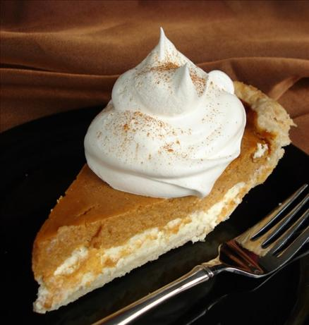 Pumpkin Cream Cheese  Layer Pie. Photo by Marg (CaymanDesigns)
