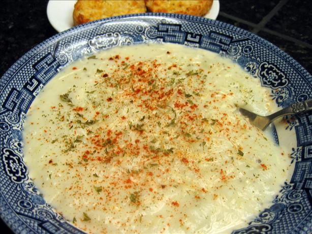 Unbelievably Easy Potato Soup. Photo by Junebug