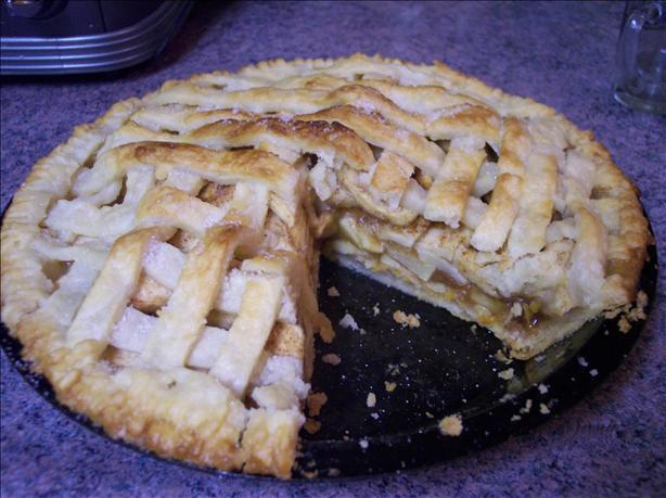 Apple and Cheese Pie. Photo by peterjanet72