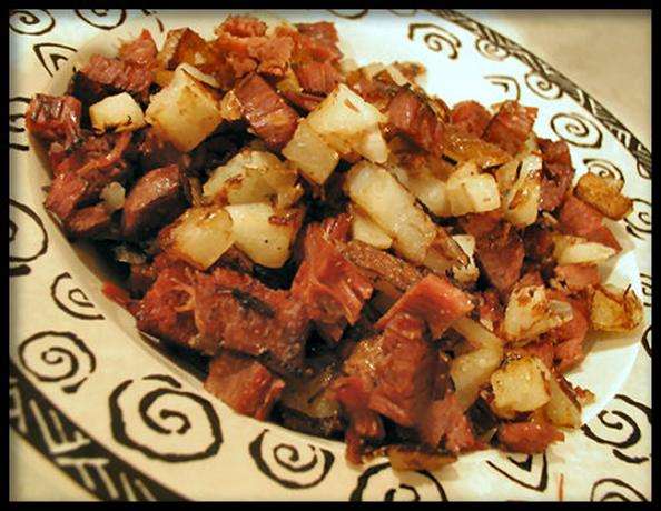 Corned Beef Hash. Photo by Sandi (From CA)