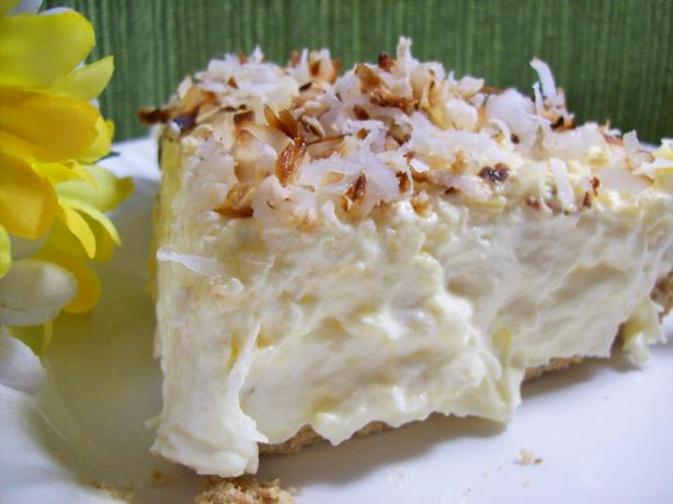 Really Easy and Good Coconut Cream Pie. Photo by Chef shapeweaver ©