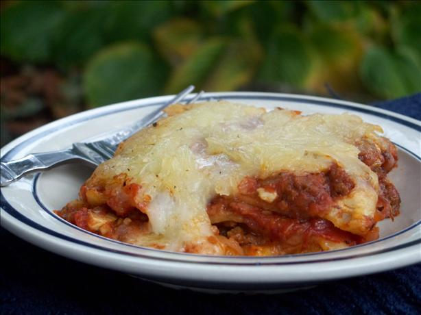 Lasagna. Photo by Marsha D.
