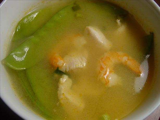 Thai Shrimp and Chicken Soup. Photo by Sharlene~W