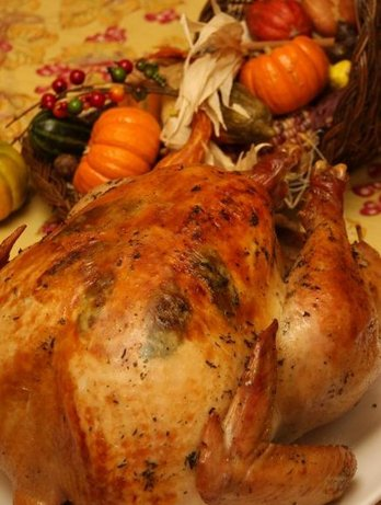 Herb-Seasoned Turkey. Photo by Amber Dawn
