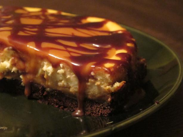Brownie Caramel Cheesecake. Photo by C Mac