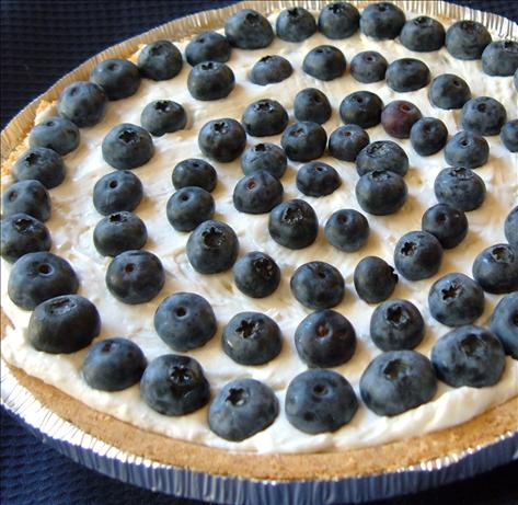 Easy Blueberry Cream Pie. Photo by newspapergal