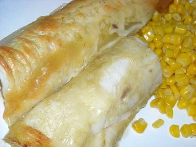 Quick and Easy Chicken Enchiladas. Photo by Pismo