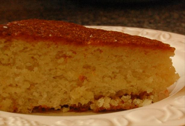 Orange and Almond Spanish Cake. Photo by Sackville