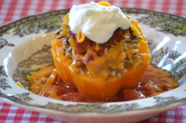 Southwestern Stuffed Bell Peppers. Photo by prichmond9