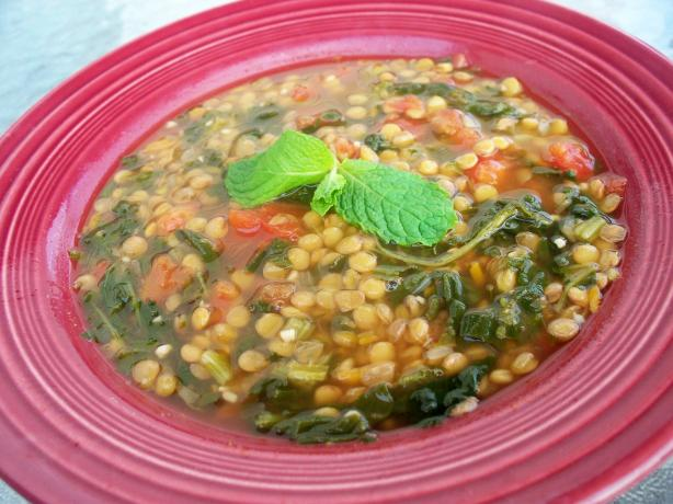 Greek Lentil Soup. Photo by *Parsley*