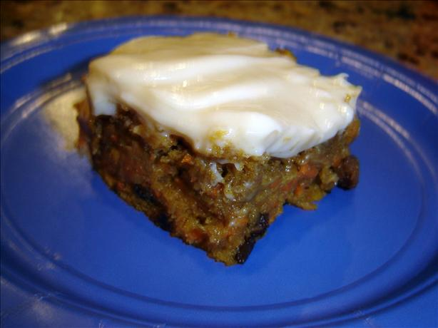 Healthy Carrot Cake. Photo by Chris from Kansas