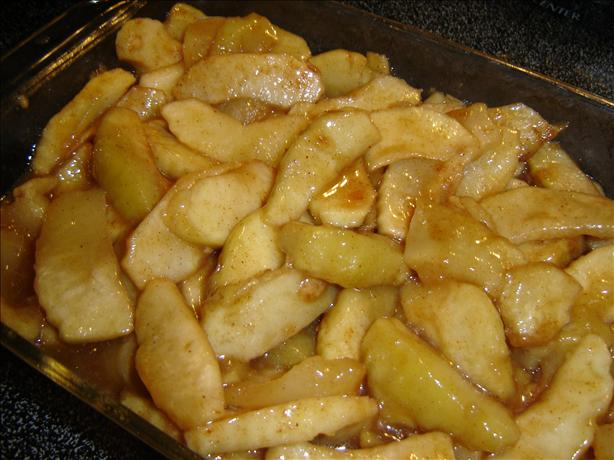 Microwave Scalloped Apples. Photo by Chris from Kansas