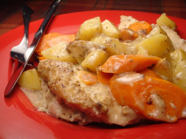 Chicken and Vegetable Casserole. Photo by Lori Mama