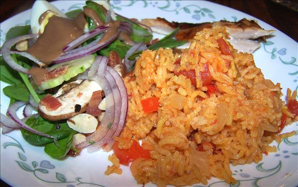 Mexican Saffron Rojo Rice. Photo by Rita~