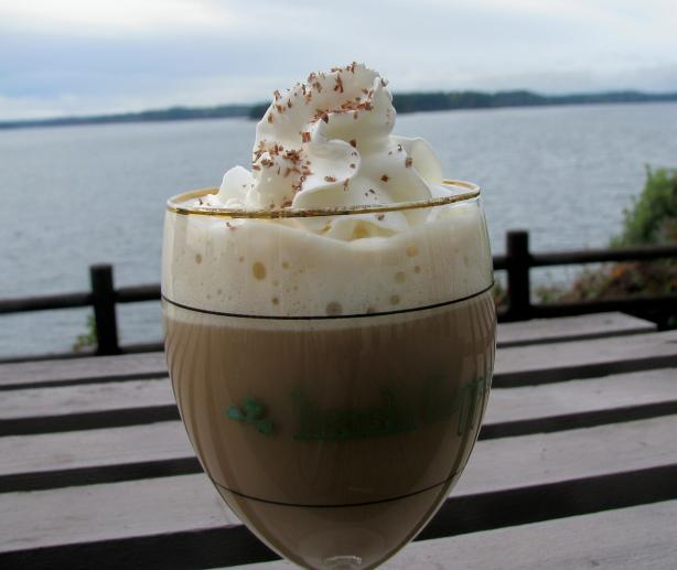 Irish Coffee with Bailey's and Kahlua. Photo by lazyme