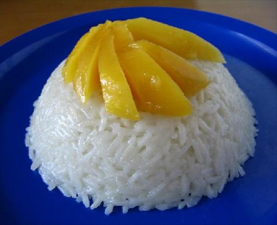 Thai Coconut-Mango Sticky Rice. Photo by Annie H