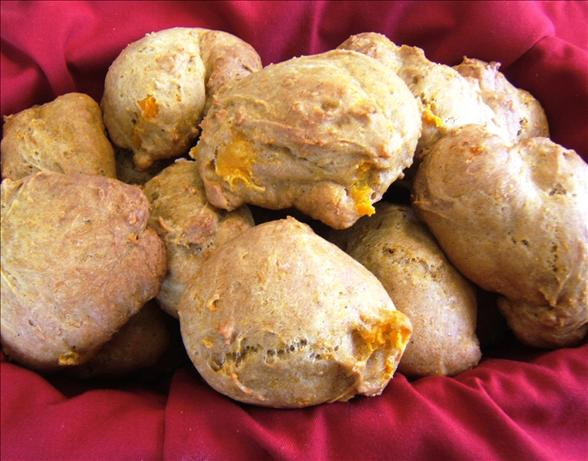 Spicy Butternut Squash or Pumpkin Biscuits With Pecans. Photo by Ms*Bindy