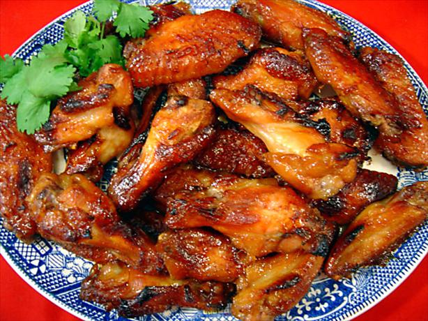 Aloha Chicken Wings. Photo by :(