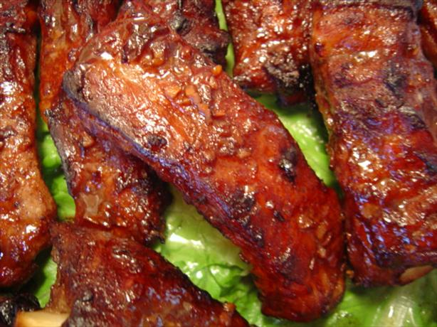 Chinese Fragrant Spareribs. Photo by :(