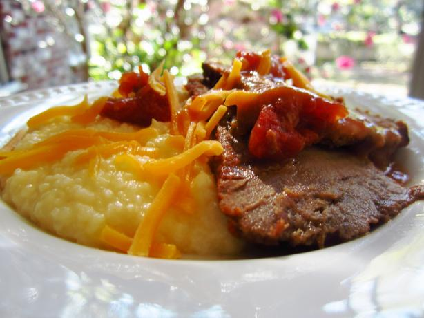 Crock Pot Cajun Pot Roast. Photo by gailanng