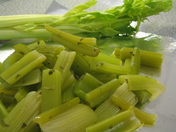 Celery, Milan Style. Photo by brokenburner