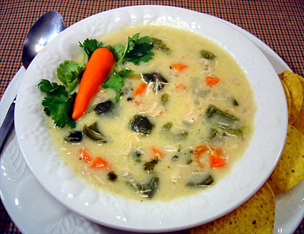 Chicken Poblano Chowder. Photo by :(