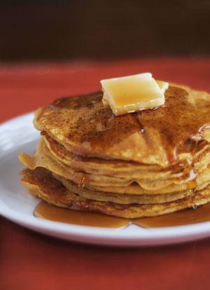 Pumpkin Pancakes. Photo by Dine & Dish