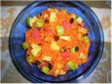Fruit & Carrot Salad