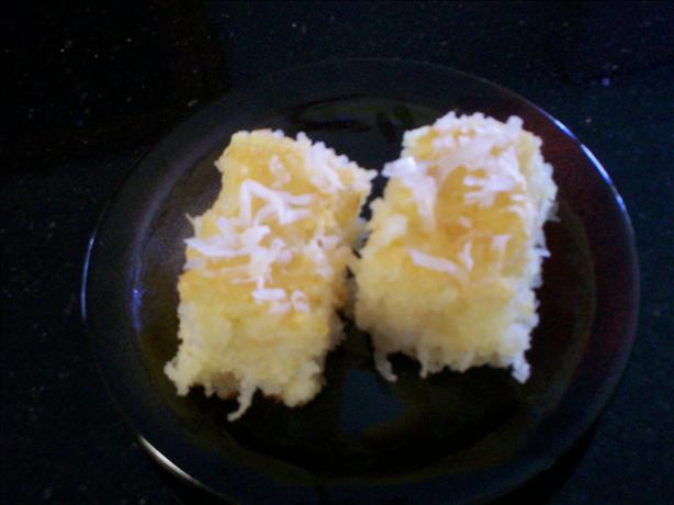 Middle Eastern Coconut Cake (Harissah). Photo by chef FIFI