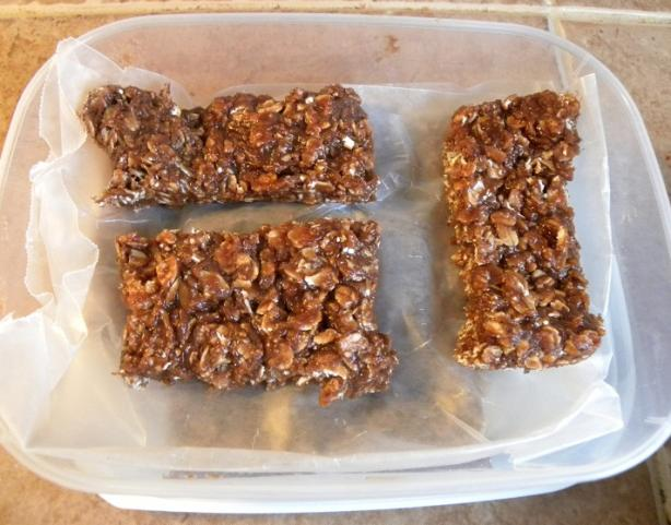 Peanut Butter Protein Bars. Photo by haven&#39;t the slightest