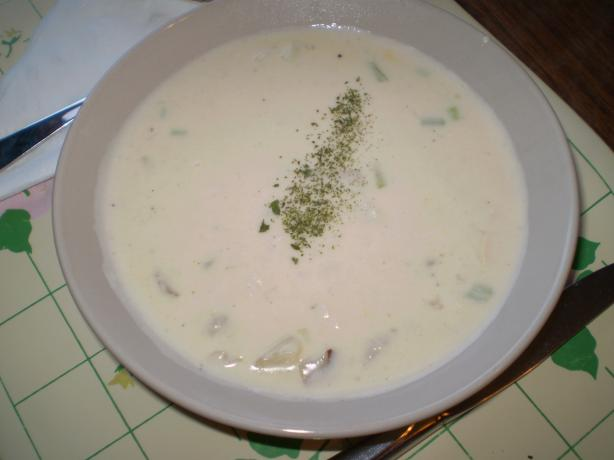Potato-Crab Chowder. Photo by RedJim