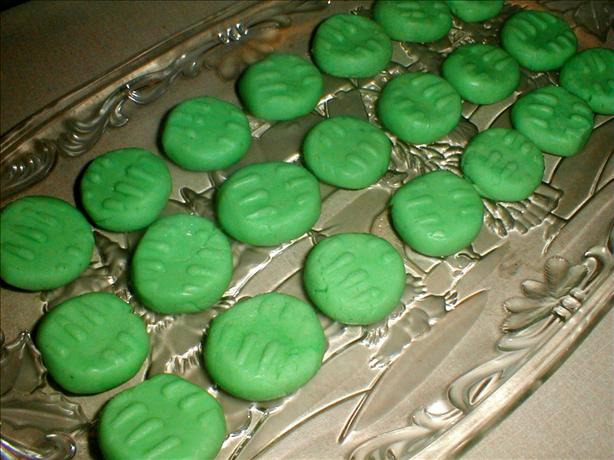 Peppermint Cream Cheese Mints. Photo by truebrit