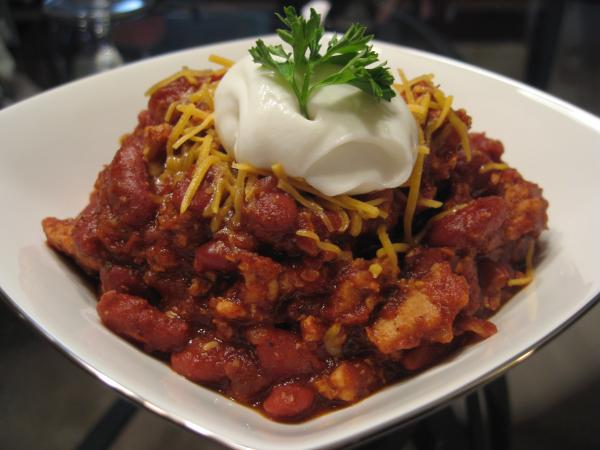 Ground Turkey Chili For People Who Hate Ground Turkey. Photo by Nurse Morgan