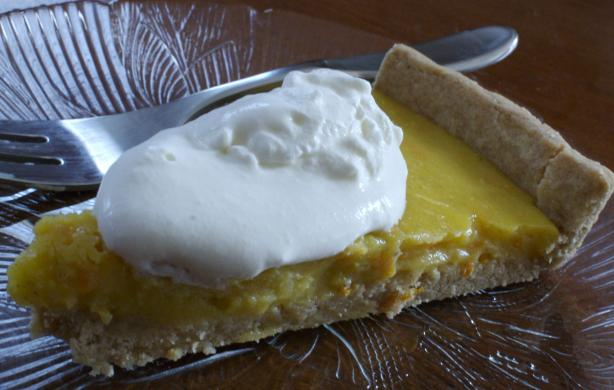Orange, Lemon and Cardamom (cardamon) Tart. Photo by Chandra M