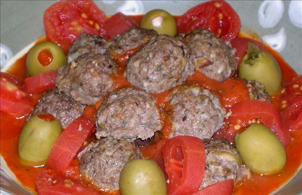 Kittencal's Greek Lamb and Feta Meatballs (Keftedakia). Photo by Mercy