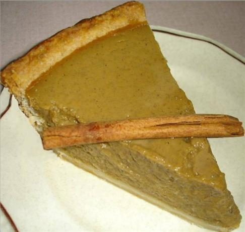 The Best Pumpkin Pie ever. Photo by truebrit