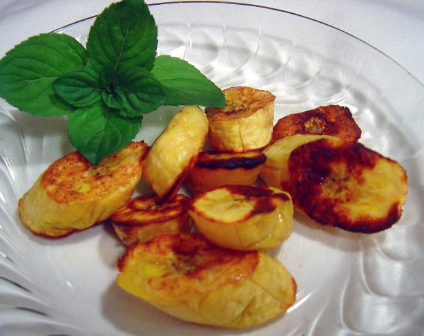 Oven Baked Sweet Plantains. Photo by :(