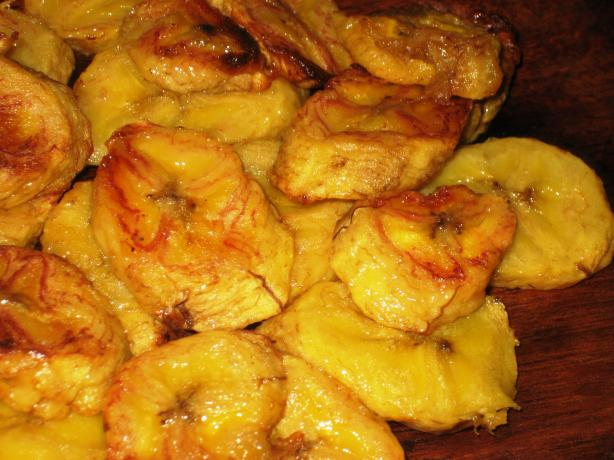 Oven Baked Sweet Plantains. Photo by Pneuma