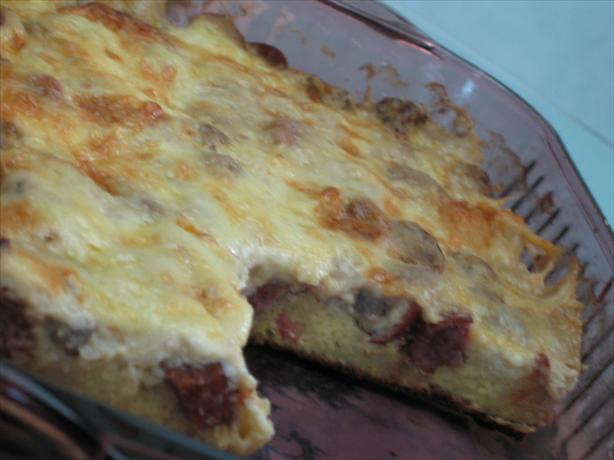 Morning Breakfast Casserole. Photo by Shasha