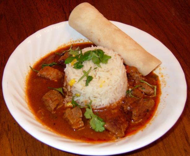 Rio Grande Valley Style Carne Guisada. Photo by PanNan