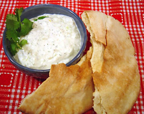 Tzatziki. Photo by :(