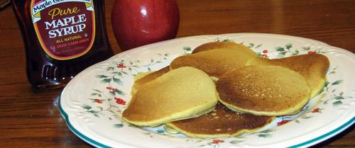 Pumpkin Sour Cream Pancakes. Photo by Tau
