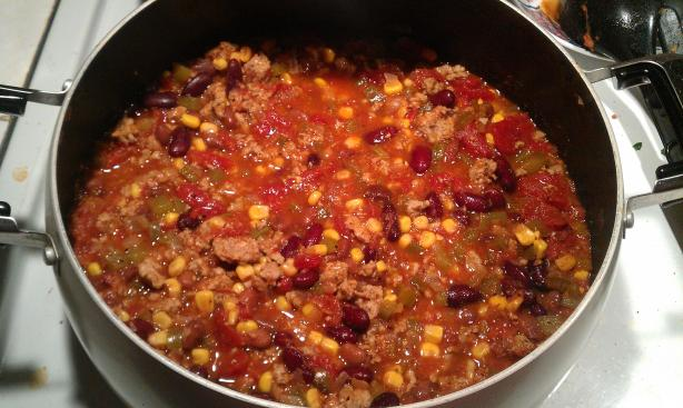 Ground Turkey Chili. Photo by Gabby B