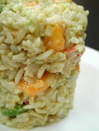 Prawn and Rice salad. Photo by Chef floWer