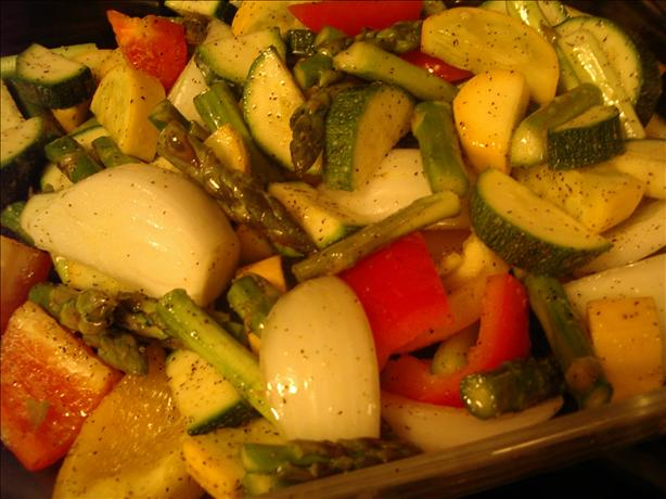 Oven Roasted Vegetables (South Beach). Photo by dojemi