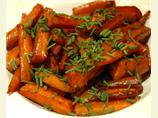 Carrots Glazed With Balsamic Vinegar and Butter