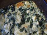 Baked Spinach With Three Cheeses