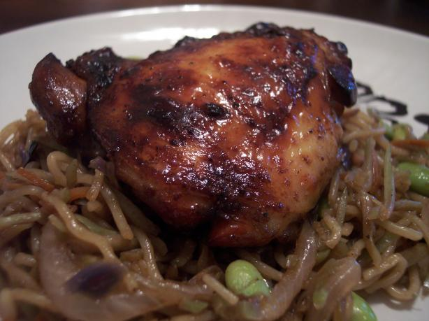 Soy Balsamic Chicken Thighs. Photo by jrusk